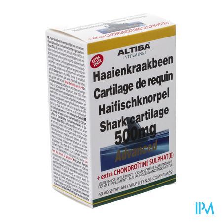 Altisa Haaienkraakbeen 500mg Tabl 60
