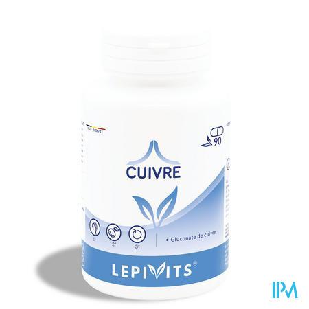 Lepivits Koper Gluconaat Pot Caps 90