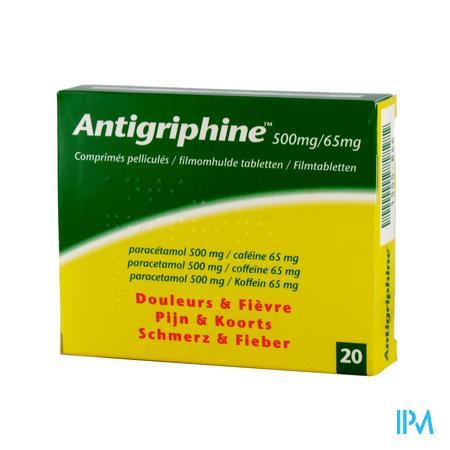 Afbeelding Antipriphine 20 tabletten.