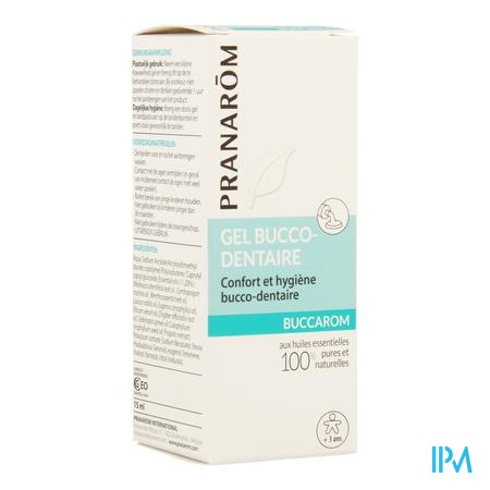 Buccarom Gel Hle Ess 15g Aromaceutics