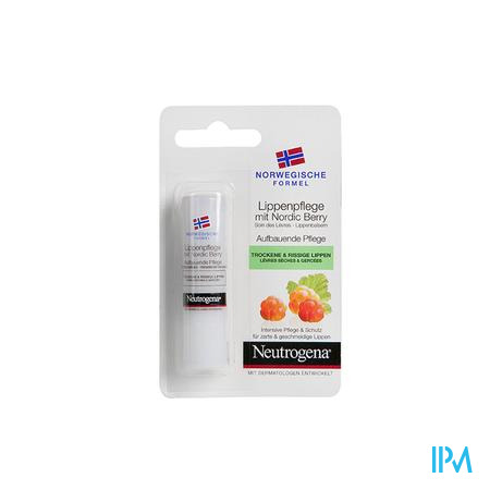 Neutrogena Lipverzorging Met Nordic Berry 4,8 g stick
