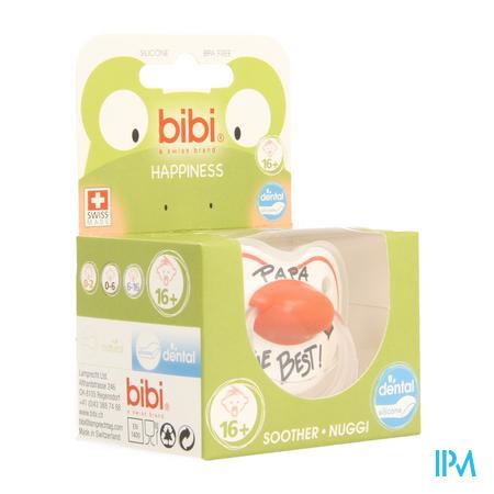 Bibi Sucette Hp Dental Papa Is The Best +16m