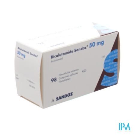 Bicalutamide Sandoz 50mg Filmomh Comp 98 X 50mg