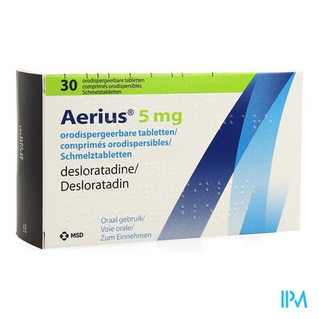 Aerius 5mg Comp Orodispergeerbare 30 X 5mg
