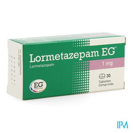 Lormetazepam Eg Comp 30 X 1mg
