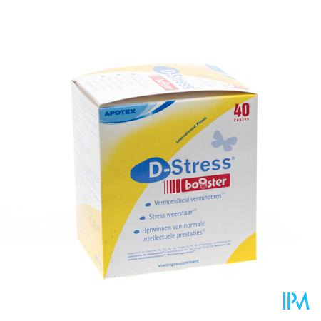 D-stress Booster Pdr Zakje 40