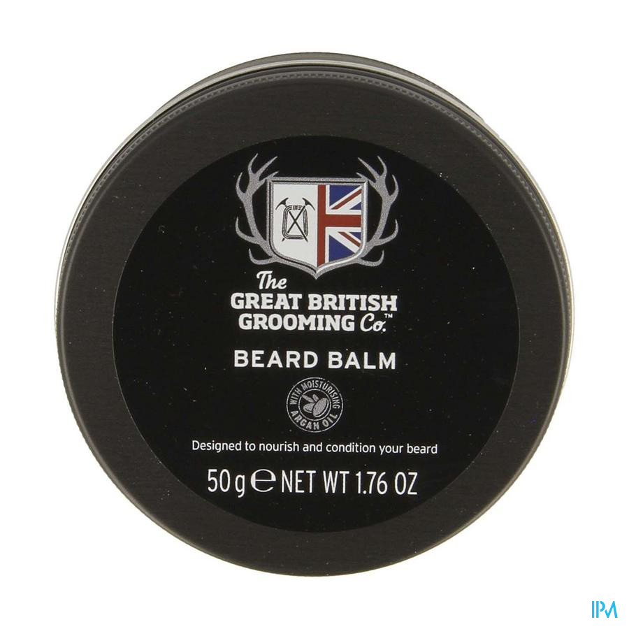 Great British Grooming Beard Balm 50g