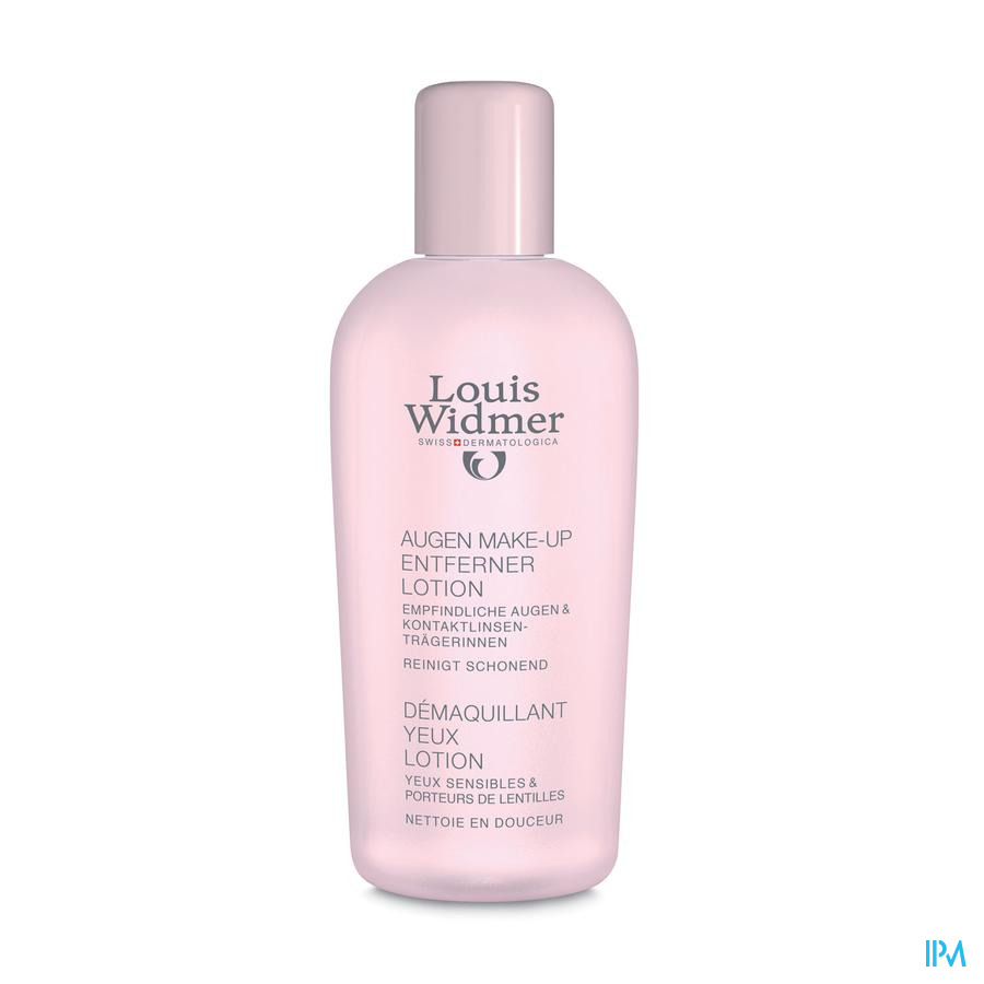 Widmer Oogmake-up Reiniger Lotion N/parf 100ml