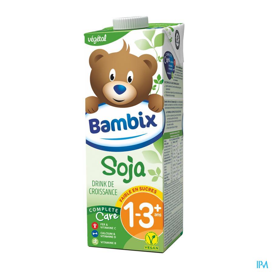 Bambix Lait Croissance Soja 1-3+ 1l