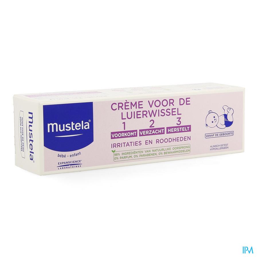 Mustela Bb Creme Luierwissel 1-2-3 50g