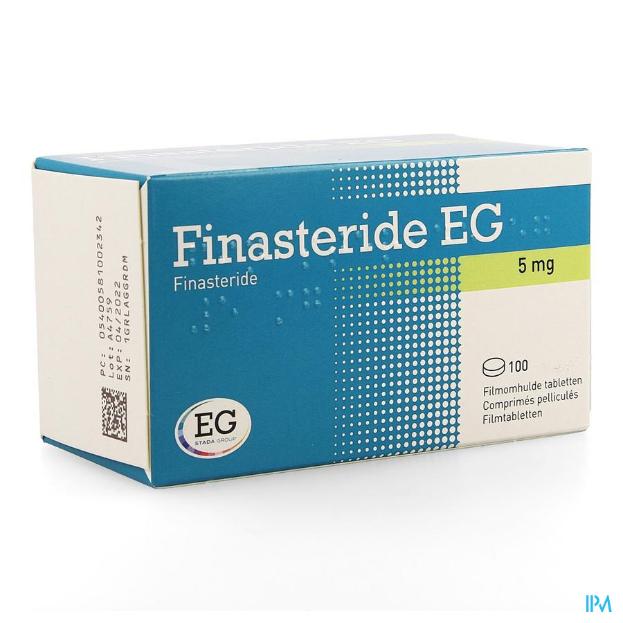 Finasteride Eg Comp 100 X 5mg