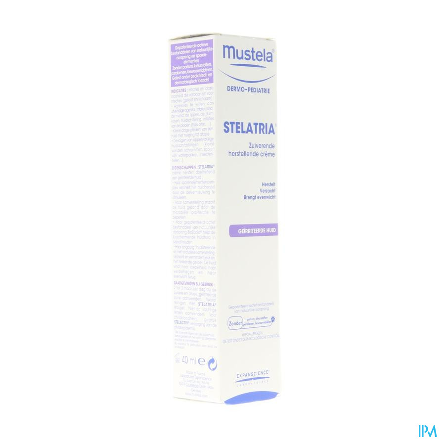 Mustela Dp Stelatria Cr Herstel.verzacht.tube 40ml