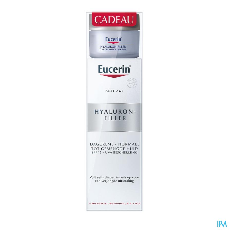 Eucerin Hyaluron Fil.cr Jr Pn-p Mix50ml+madur.20ml