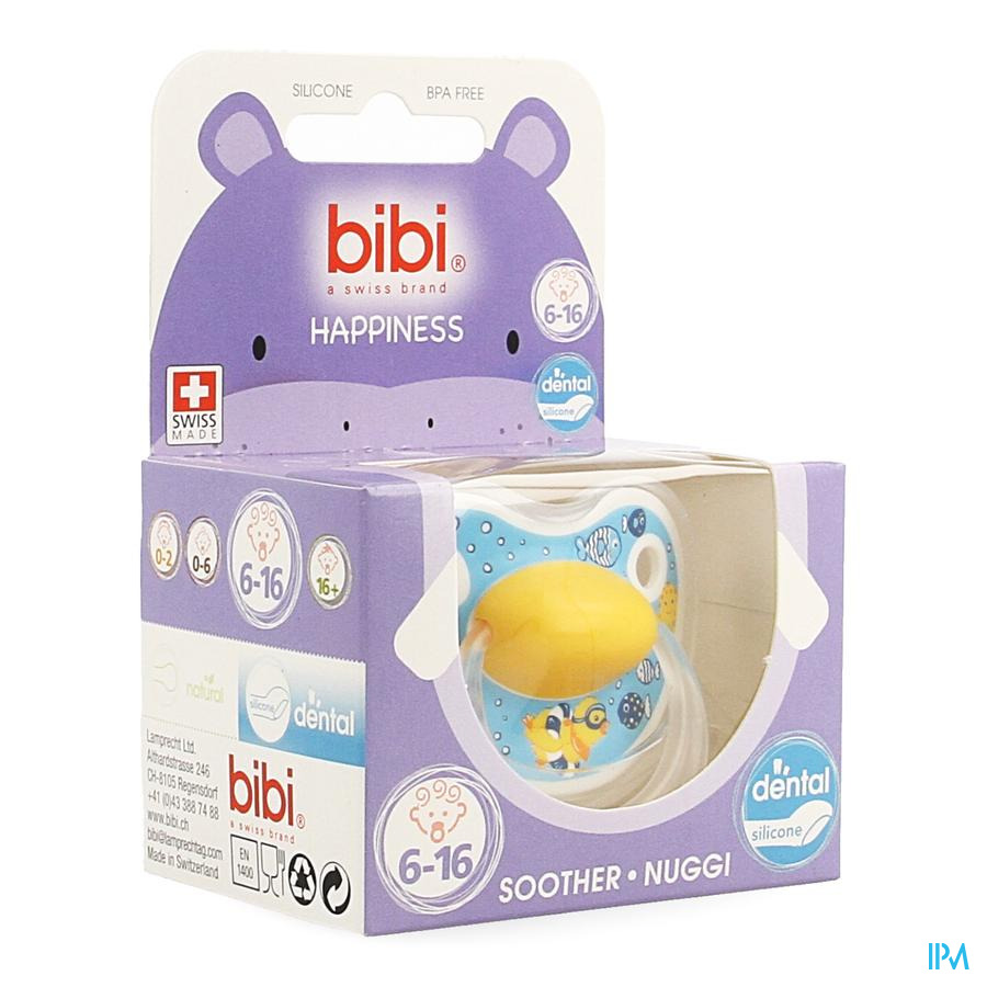Bibi Fopspeen Hp Dental Birdy 6-16m
