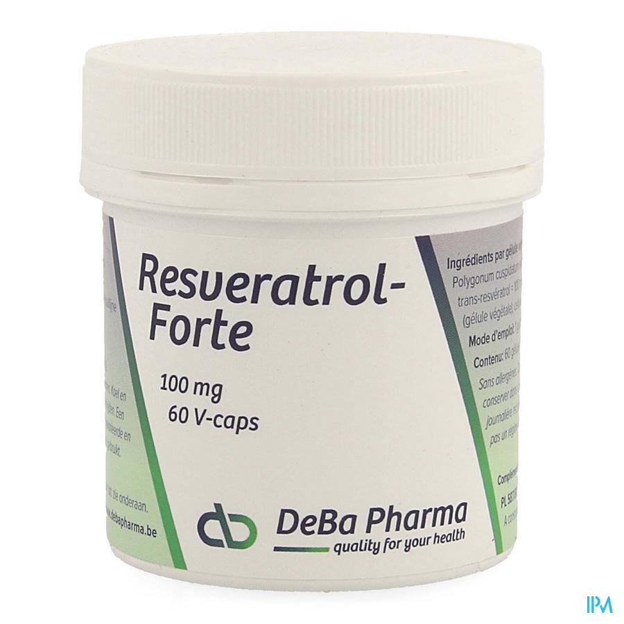Resveratrol Forte Caps 60x100mg Deba