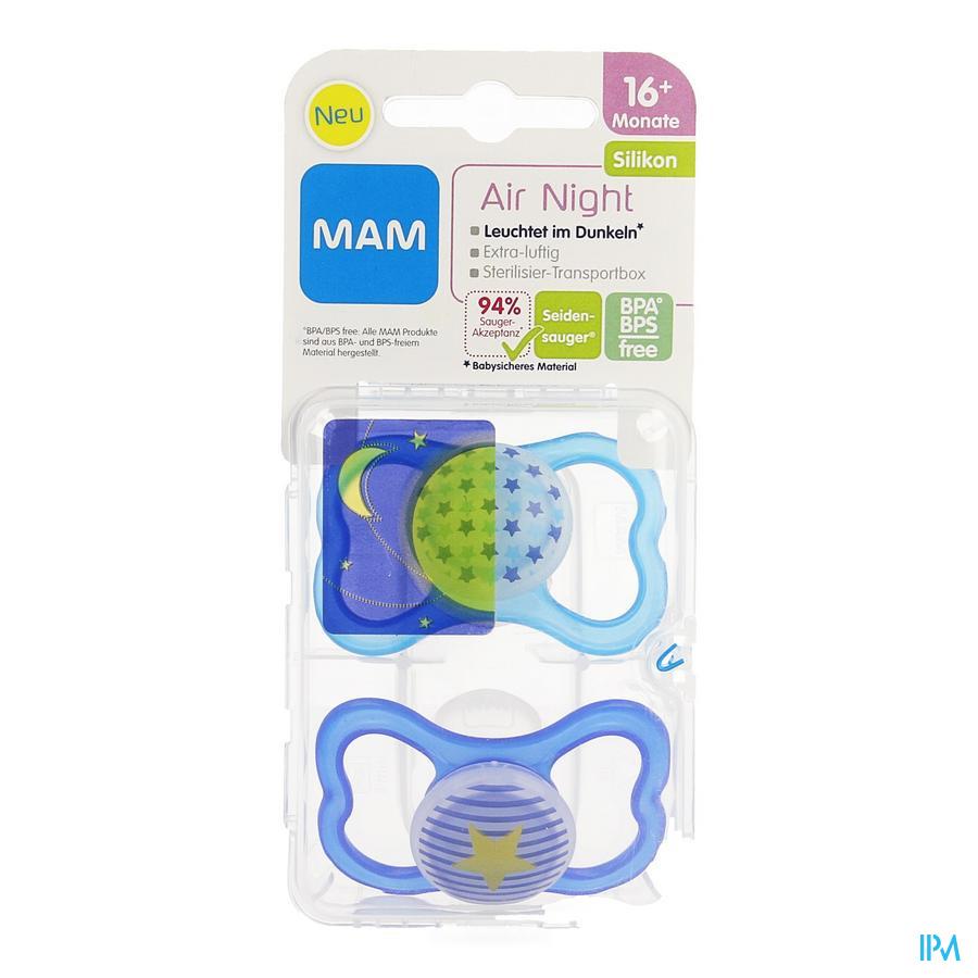 Mam Fopspeen Air Night +16m Jongen