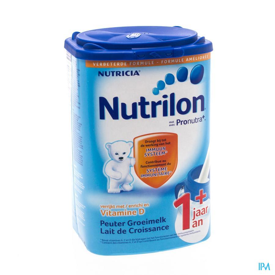 Nutrilon Peuter Groeimelk +1jaar Nf Eazypack 800g