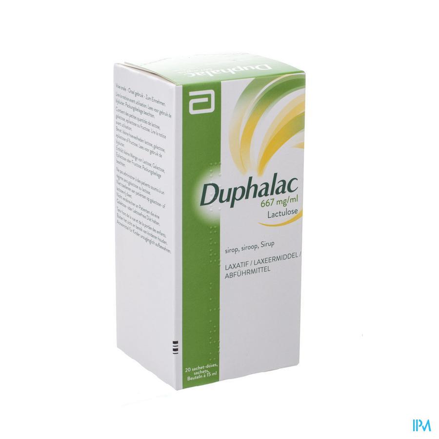 Duphalac Zakjes 20 X 15 ml