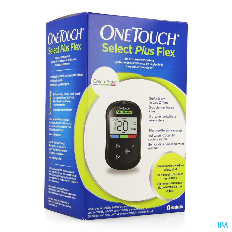 OneTouch Select Plus Flex Bloedglucosesysteem