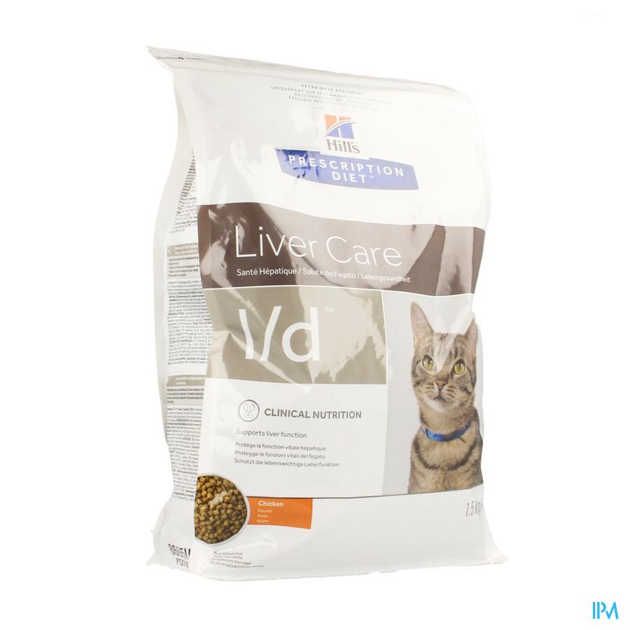 Hills Prescrip.diet Feline Ld 1,5kg 8695m