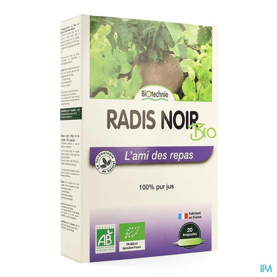 Zwarte Radijs Bio Amp 20x10ml Biotechnie