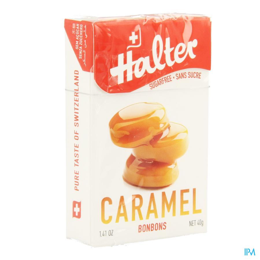 Halter Bonbon Vanil-caramel Ss 40 gr