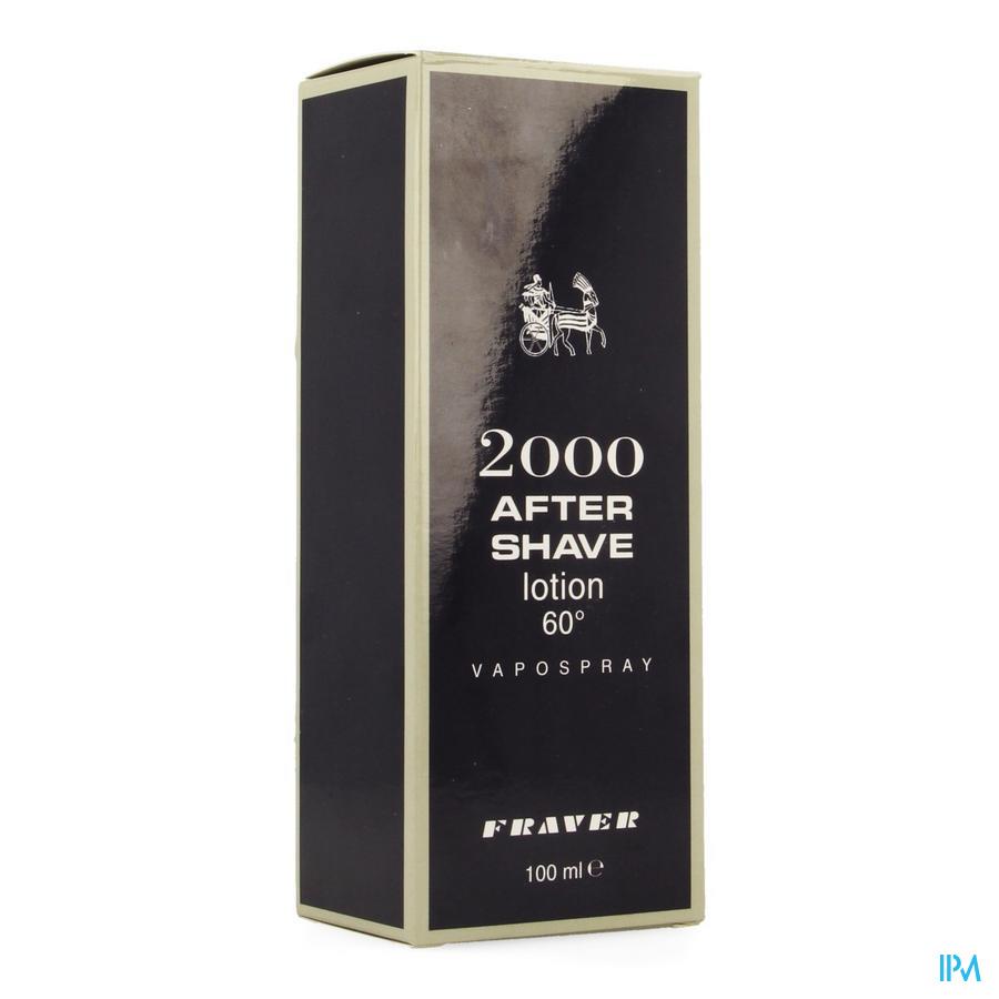 A/shave 2000 Fraver 100ml Vapo Cap Luxe