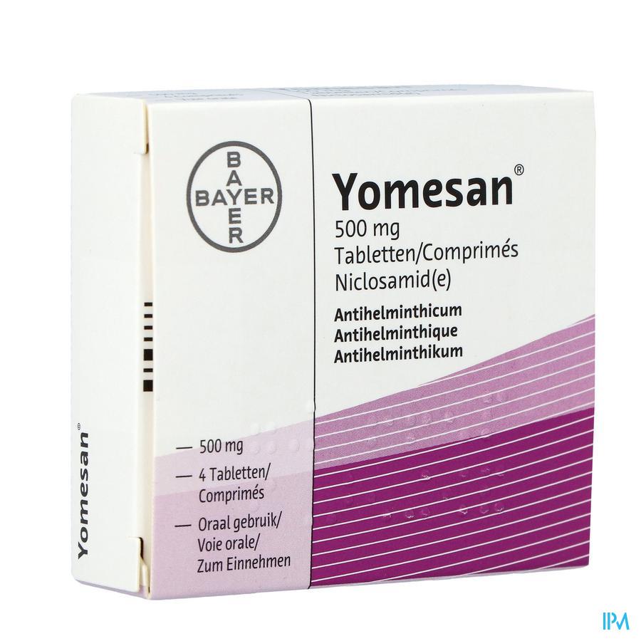 Yomesan Comp. 4x500mg
