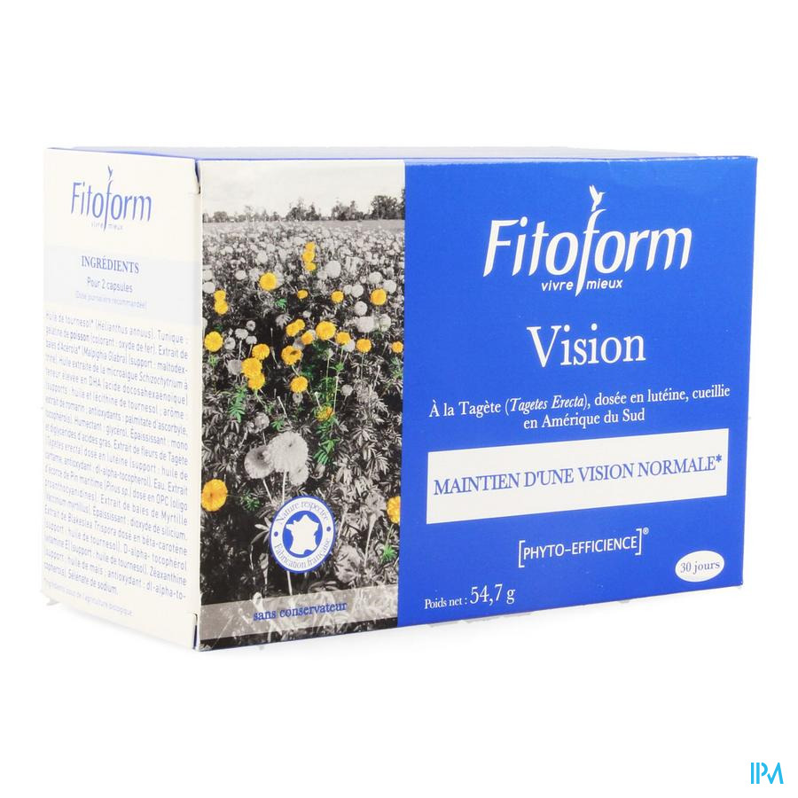 Vision Caps 60 Fitoform