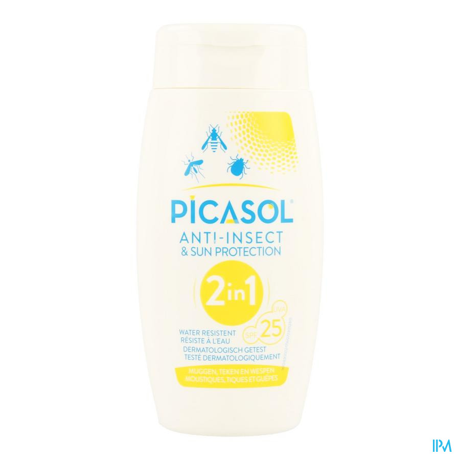 Picasol Sun Ip25 & Insect Protection Fl 150ml