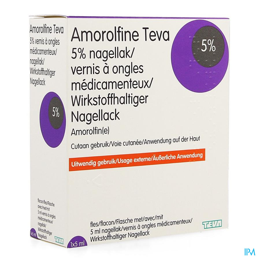 Amorolfine Teva Vernis A Ongles Medical 1 X 5ml