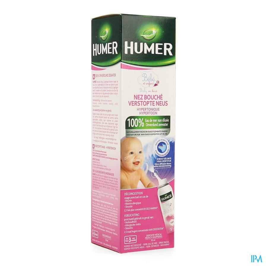 Humer Spray Hypertonique Enfant 50ml