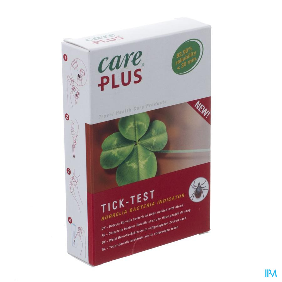 Care Plus Tick Test Lyme Borreliose Nf