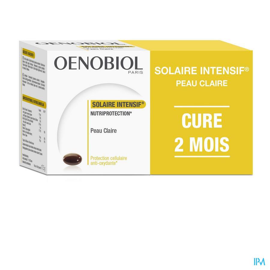 OENOBIOL SOLAIRE INTENSIF CURE PEAU CLAIRE 2X30 CAPS