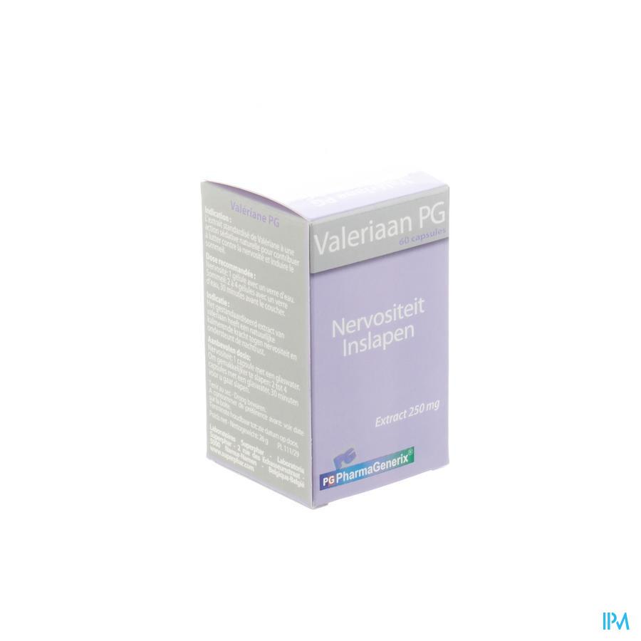 Valeriaan Pg Pharmagenerix Capsule 60