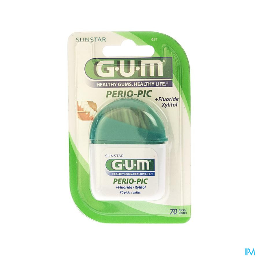 GUM PERIOPIC TANDENSTOKERS HOUT 60 631