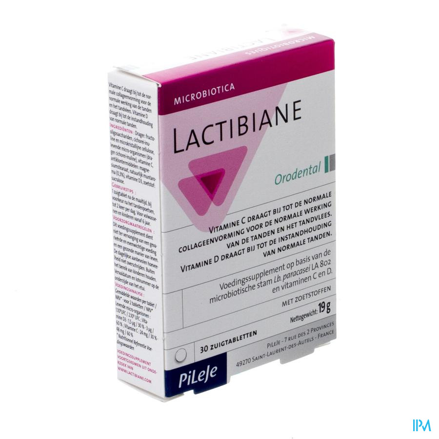 Lactibiane Orodental Comp 30