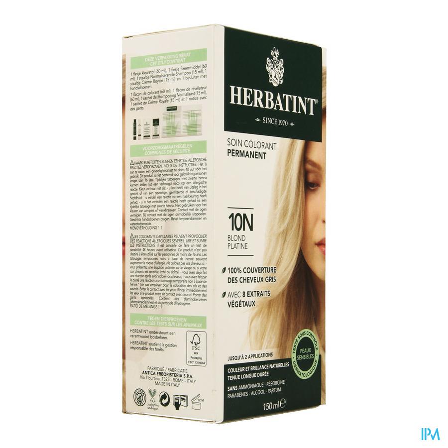 Herbatint Blond Platine 10n