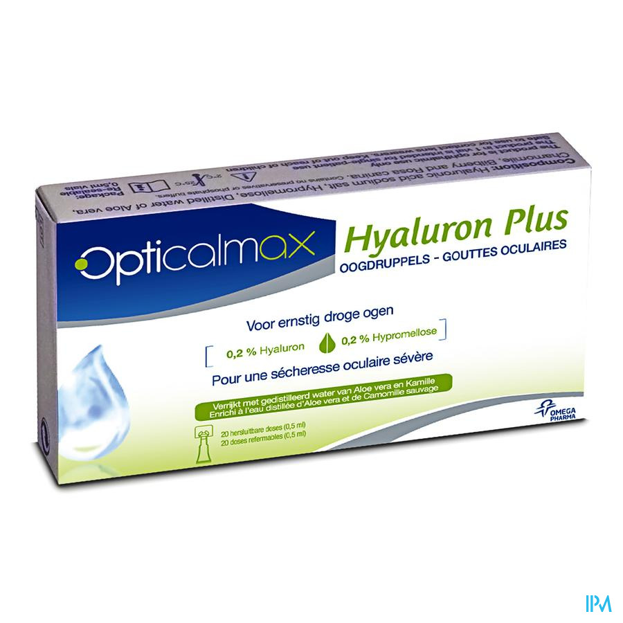 Opticalmax Hyaluron Plus 20x0,5ml