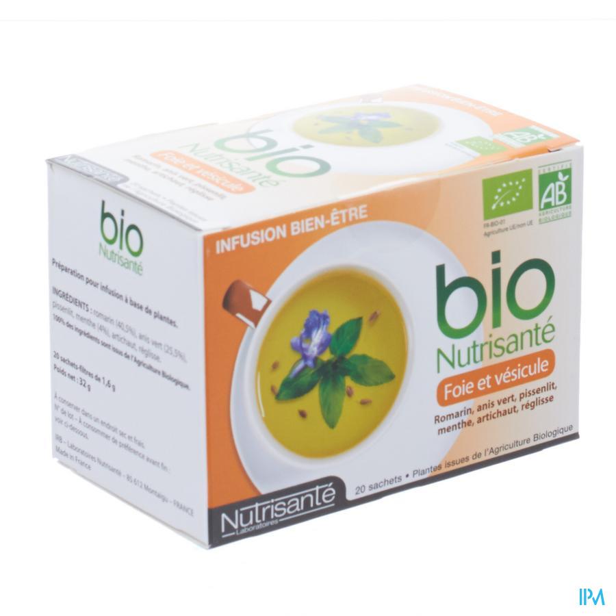 Infusie Bio Lever En Blaas Zakje 20