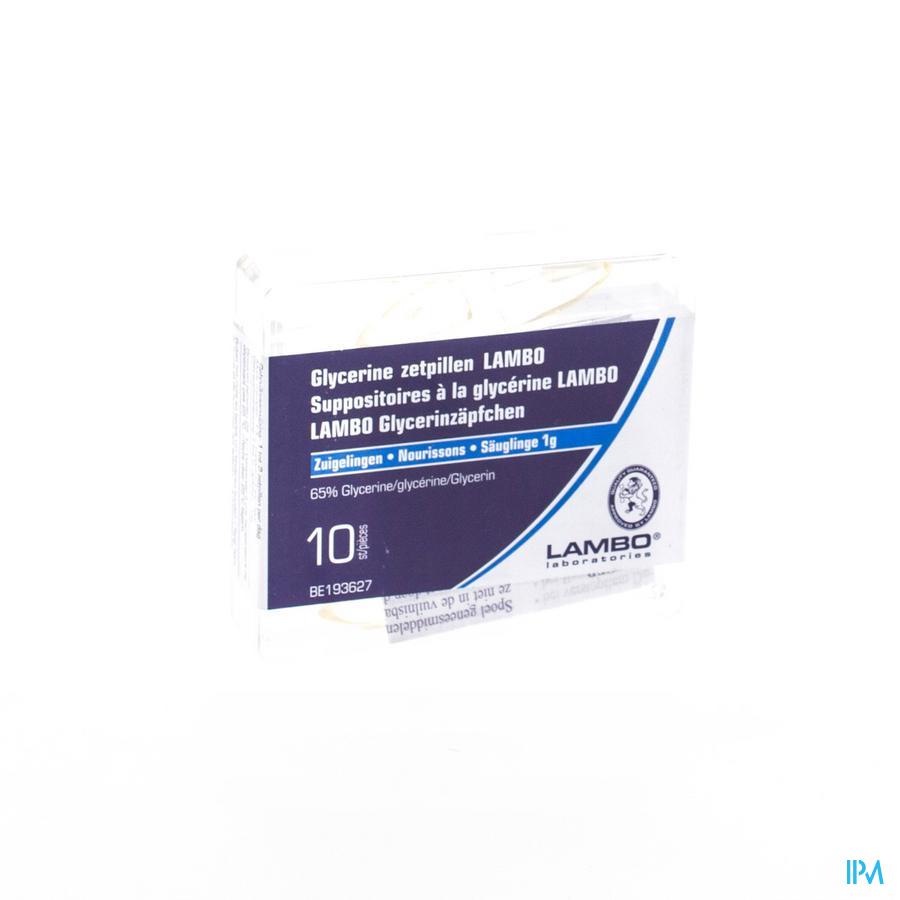 Glycerine Lambo Suppo Conique Bébé 10