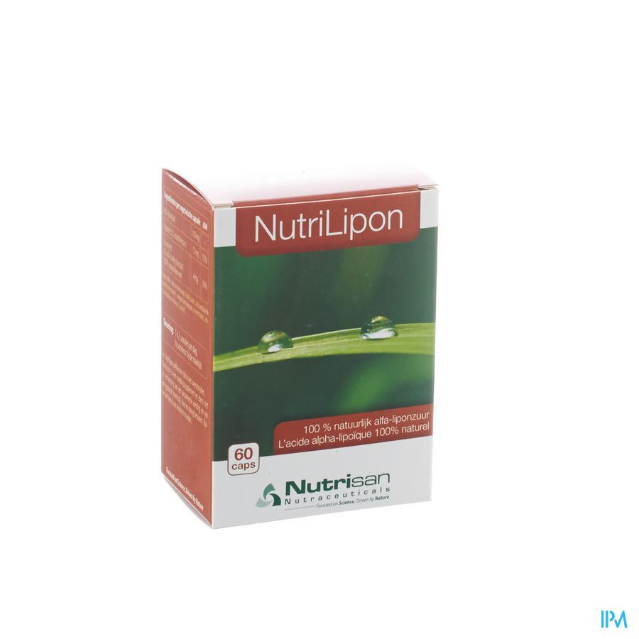 Nutrilipon 60 Vegetarische Capsuleules Nutrisan