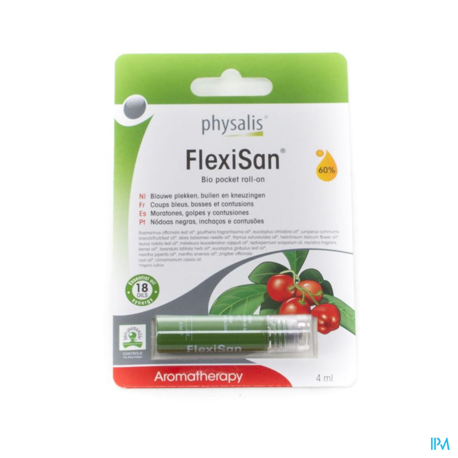 Physalis Roll-on Flexisan Bio 4ml