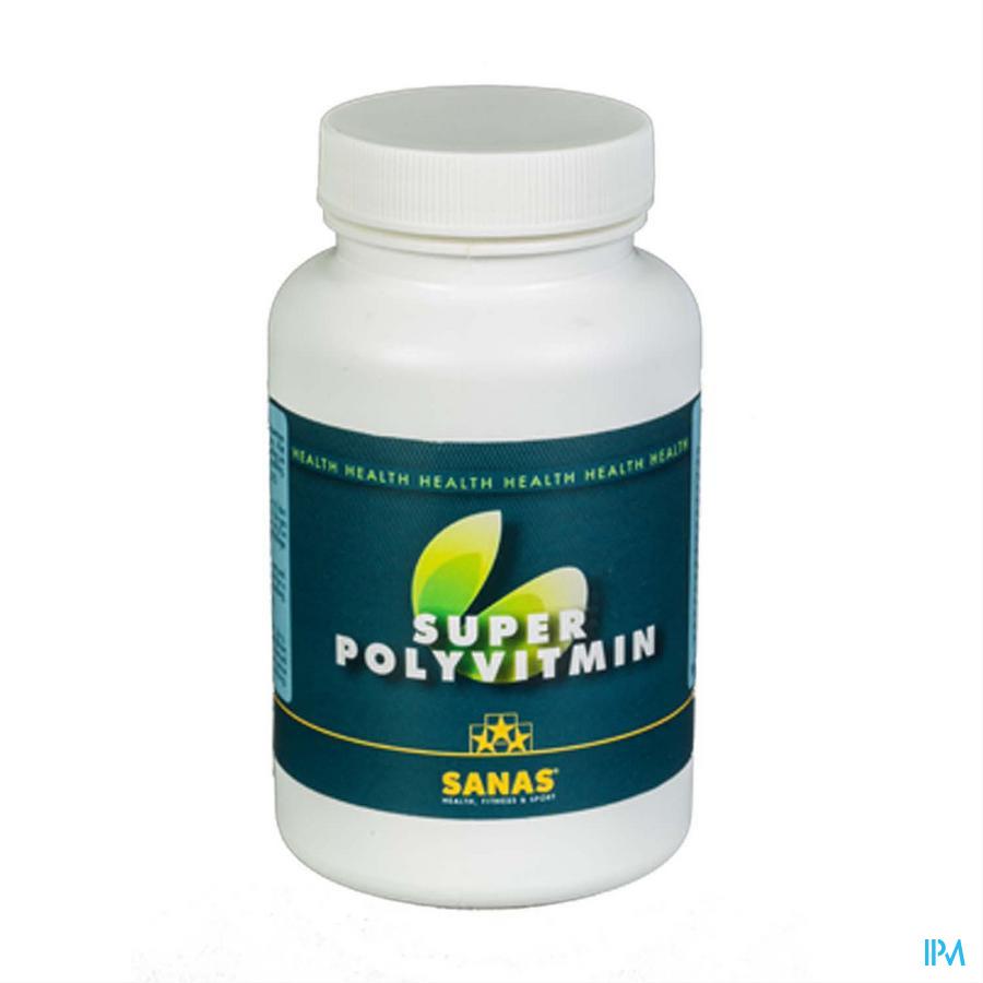 Sanas Super Polyvitmin Caps 60