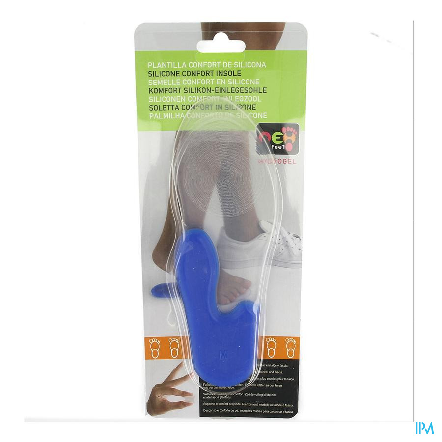 Neh Semelle Confort Silicone 39/42 1 Paire