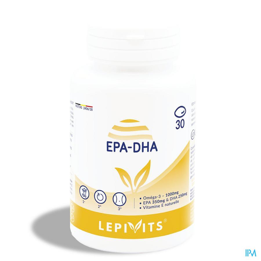 Leppin Epa/dha+ Forte Caps 30