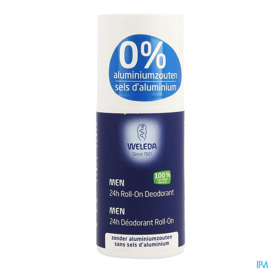 Weleda Deodorant Homme 24h Roll-on 50ml