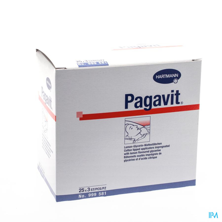 Pagavit Hartm Citroenglyc.staaf 3x25 9995811