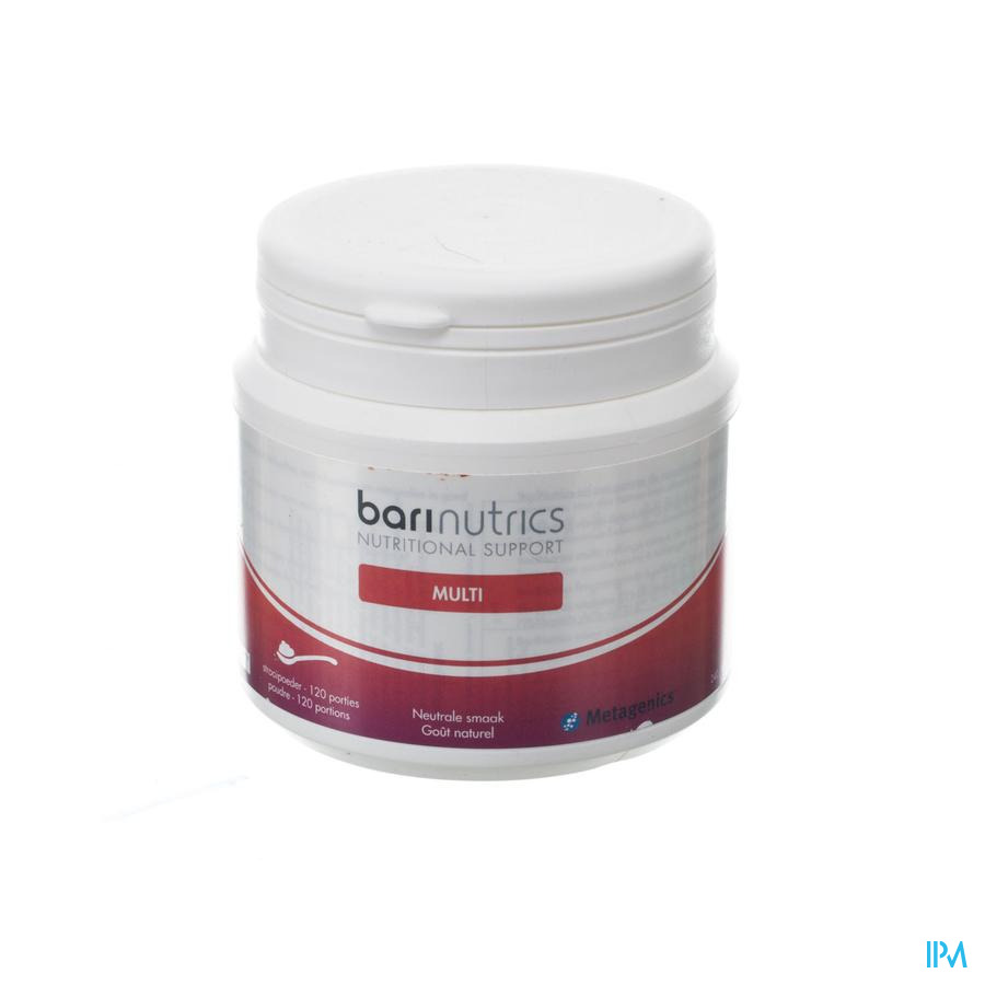 Barinutrics Multi Powder Nature 120 Portions
