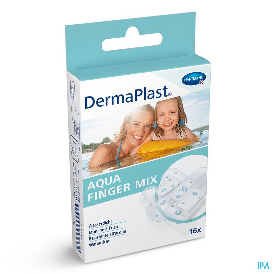 Dermaplast Aqua Mix Doigts 16 P/s